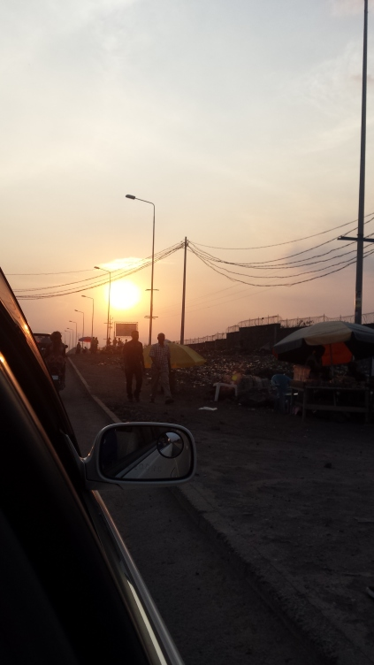 Abend in Goma