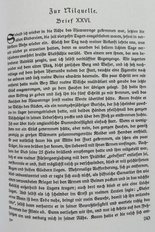 Kandts Wälzer umfasst 420 Seiten und ist in Sütterlin geschrieben.