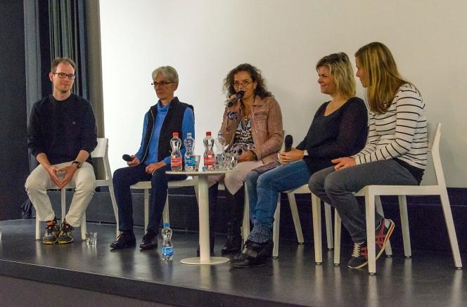 Christian und Vreny Plaschy, Caroline Doka, Tanja und Kathia Vonlanthen (v. li)