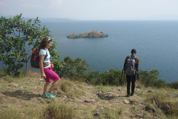 Wandern auf Napoleon Island.