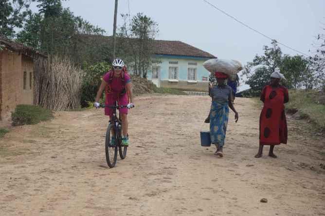 Auf dem Congo Nile Trail