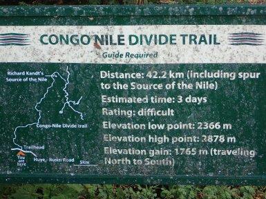 42 km bis zur Kandt-Quelle.