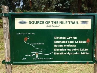 Vom Rand des Nyungwe Forest ist es ein Katzensprung bis zur 2006er Quelle.