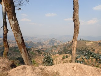 Ruanda, Land der 1000 Hügel.